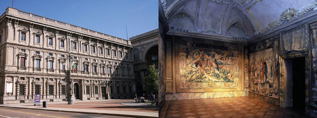 Palazzo marino devient mus e hotel aurora milano for Hotel aurora milano